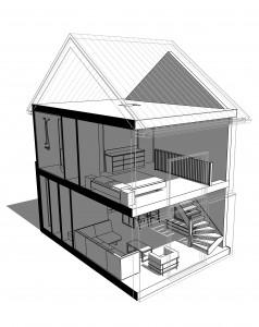3D-model INTERIEUR